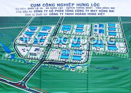 Cụm công nghiệp dệt may Hưng Lộc