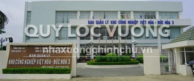 Khu công nghiệp Đức Hoà III - Việt Hoá