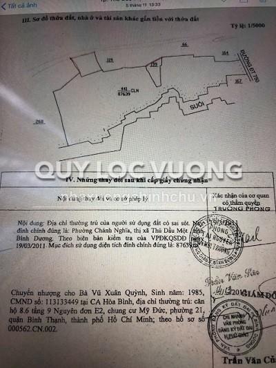 Bán đất xây xưởng xã Phước Hòa huyện Phú Giáo tỉnh Bình Dương diện tích 10ha