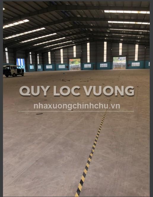 Cho thuê hoặc bán xưởng trong KCN Tam Phước Biên Hòa diện tích 16.000m2