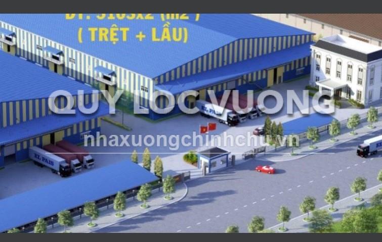 Bán nhà xưởng trong KCN NamTân Uyên, tỉnh Bình Dương
