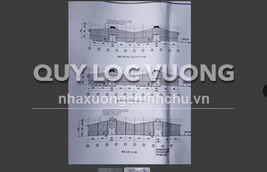 Cho thuê xưởng sản xuất tại xã Đất Cuốc huyện Tân Uyên rộng 15.000m2