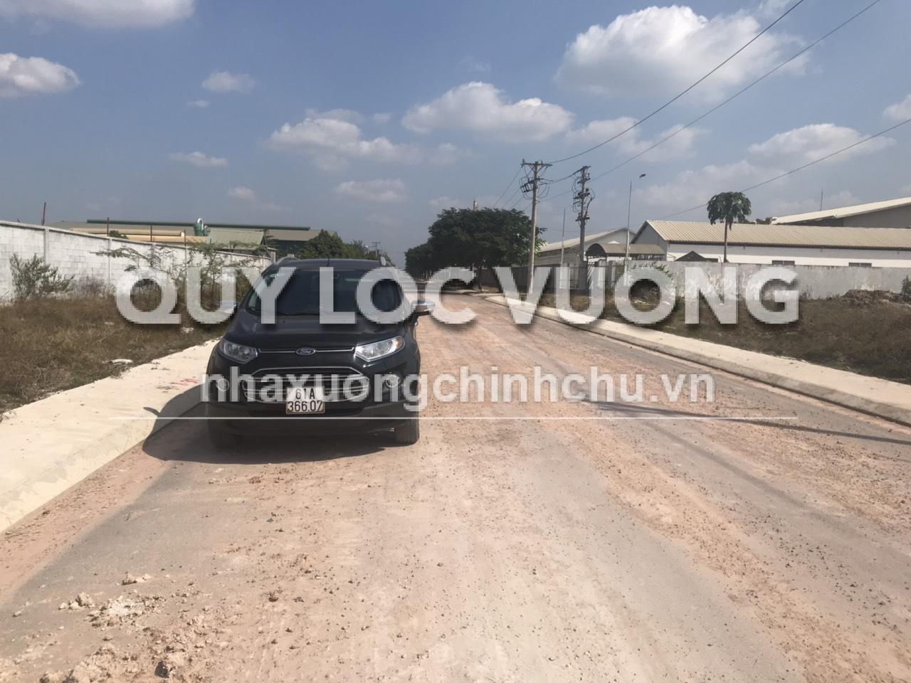 Bán 10.000m2 đất xây xưởng trong KCN Chơn Thành, Bình Phước