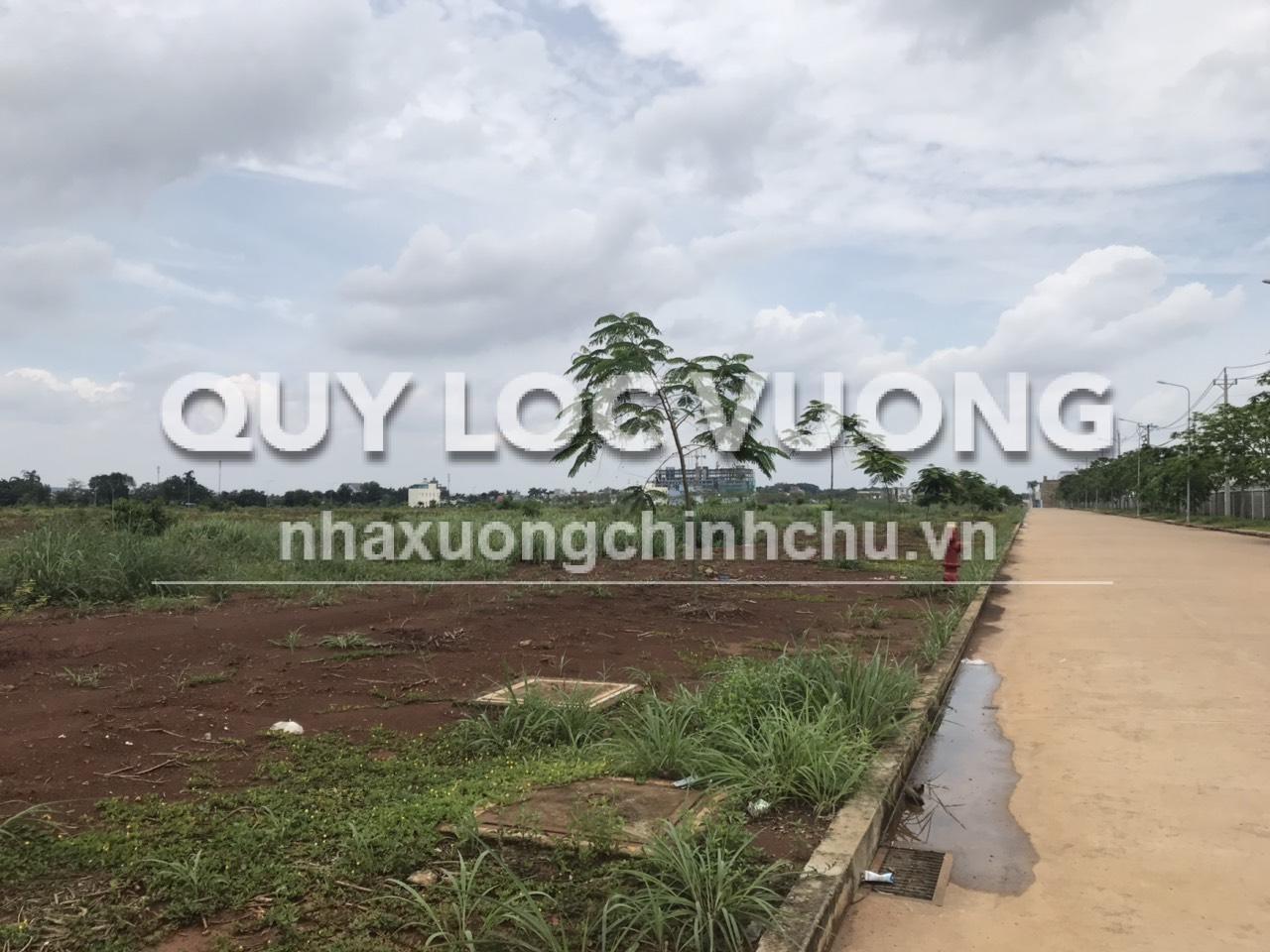 Bán 4 lô đất trong KCN Đồng Xoài tỉnh Bình Phước diện tích đa dạng