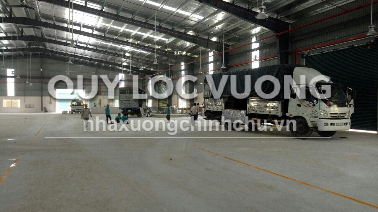 Cho thuê nhà xưởng mới xây tại xã An Điền thị xã Bến Cát, Bình Dương