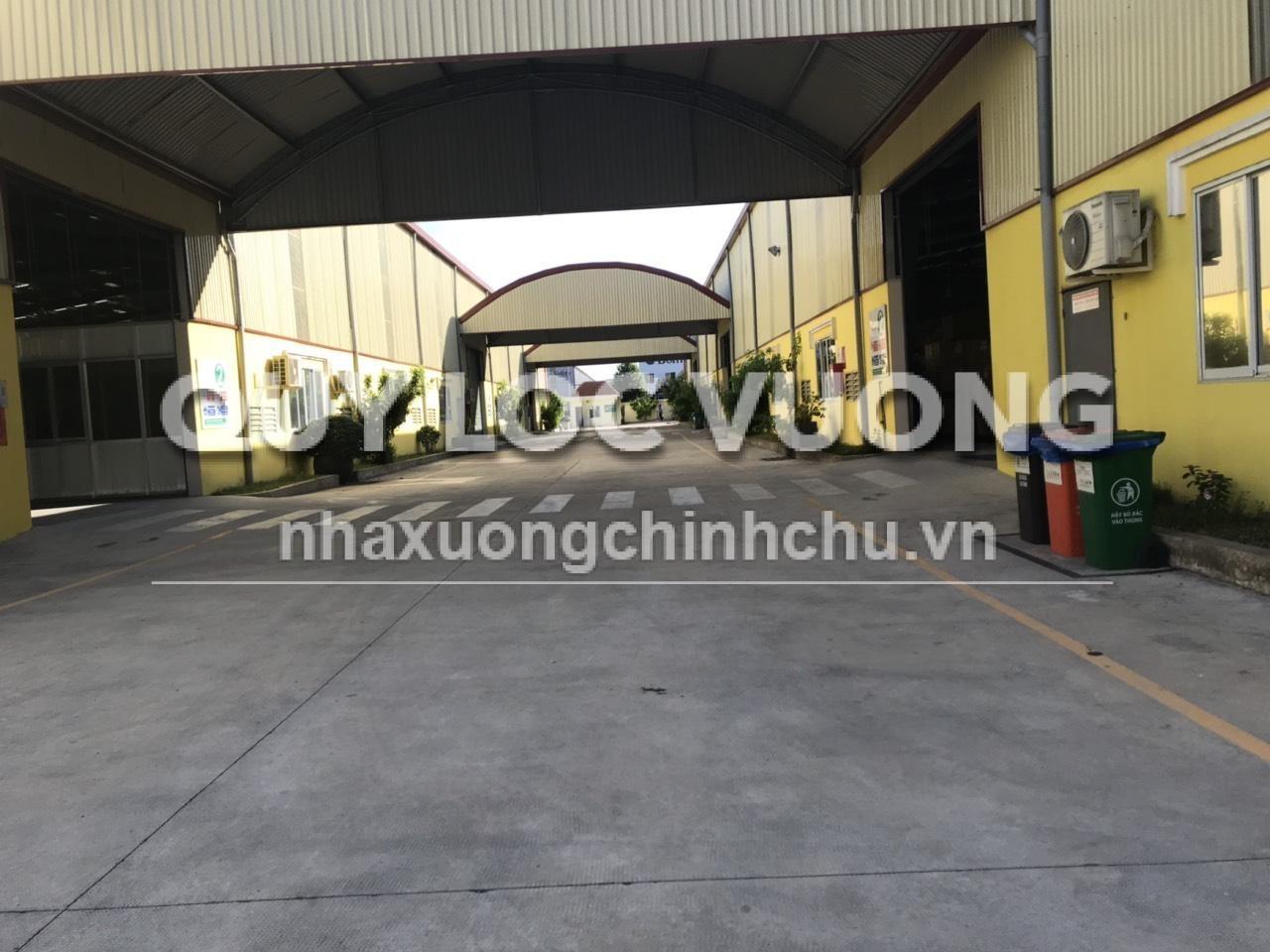 Cho thuê xưởng trong KCN Nhơn Trạch Đồng Nai diện tích 64000m2