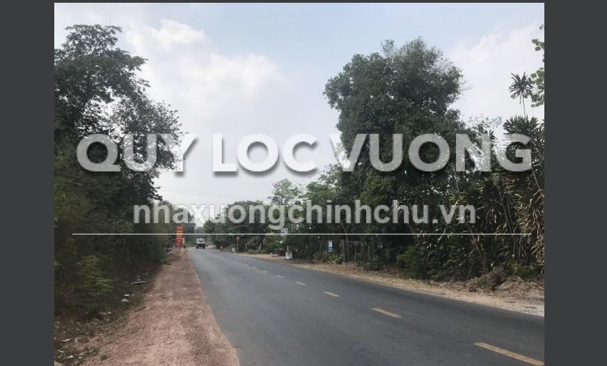 Bán 25.000m2 đất tại xã Phú An thị xã Bến Cát, Bình Dương