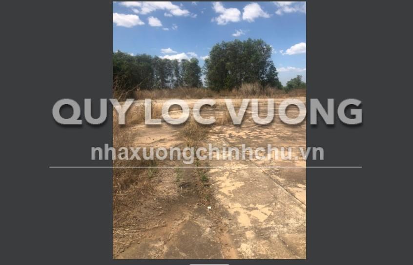 Bán đất và xưởng tại thị xã Bến Cát diện tích 35.000m2