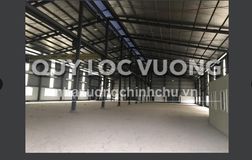 Bán nhà xưởng tại Tân Uyên Bình Dương diện tích 2.600m2