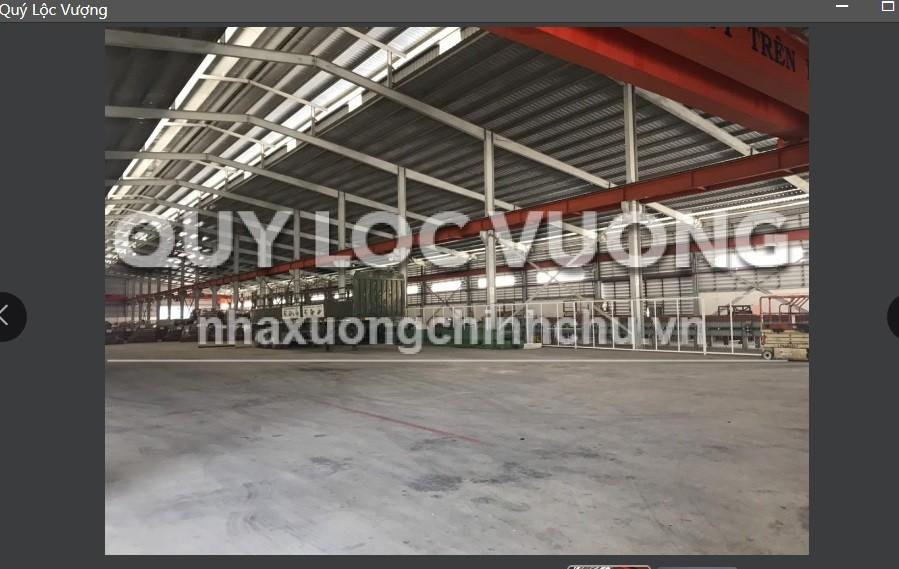 Bán xưởng khuôn viên 20.000m2 trong KCN Vsip 2, Tân Uyên, Bình Dương