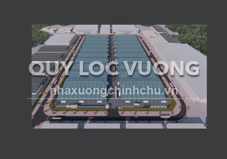 Cho thuê cụm nhà xưởng 320.000m2 trong KCN Dầu Giây, Thống Nhất, Đồng Nai