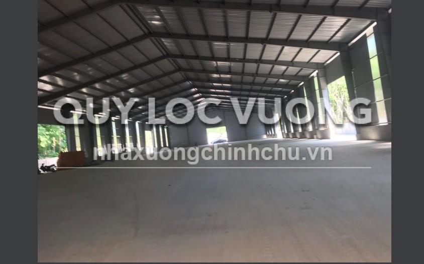 Cho thuê xưởng khuôn viên 16.000m2 tại Phú Giáo, Bình Dương
