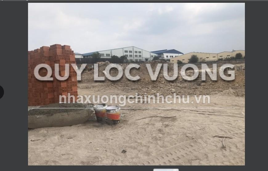 Cho thuê xưởng khuôn viên 18.000m2 trong KCN Sóng Thần 3, Tân Uyên, Bình Dương