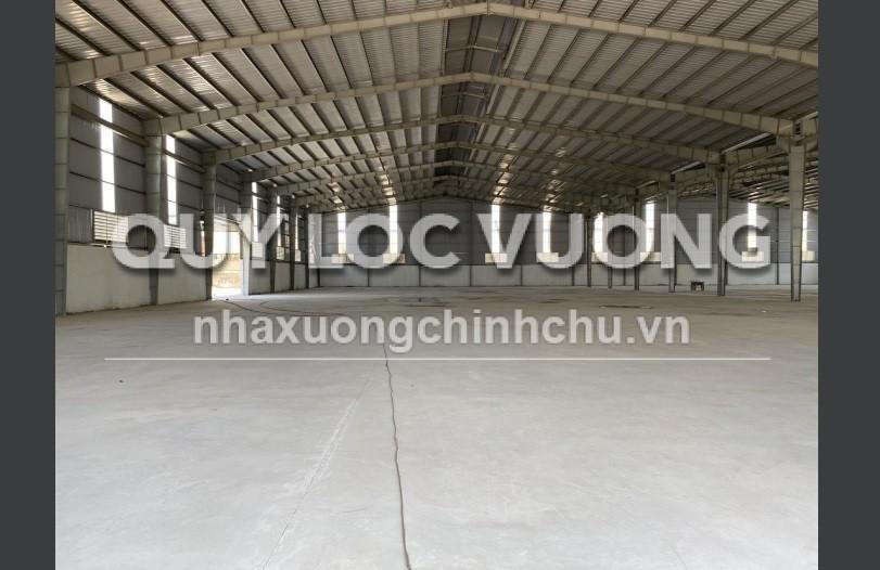 Cho thuê hoặc bán xưởng trong cụm công nghiệp VLXD Hố Nai, Trảng Bom, ĐN