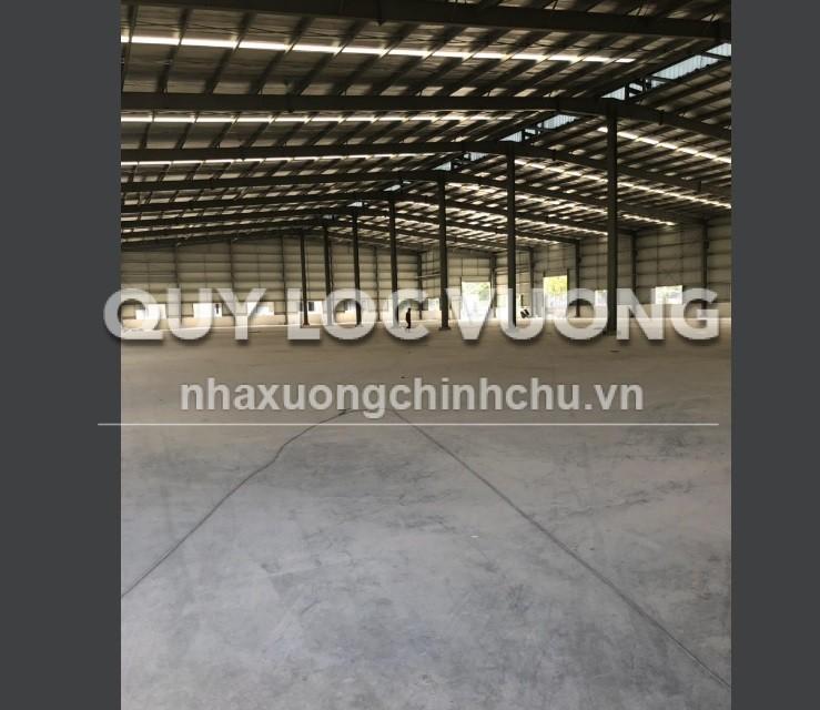 Cho thuê xưởng khuôn viên 50.000m2 trong KCN Bình Phước, tỉnh Bình Phước