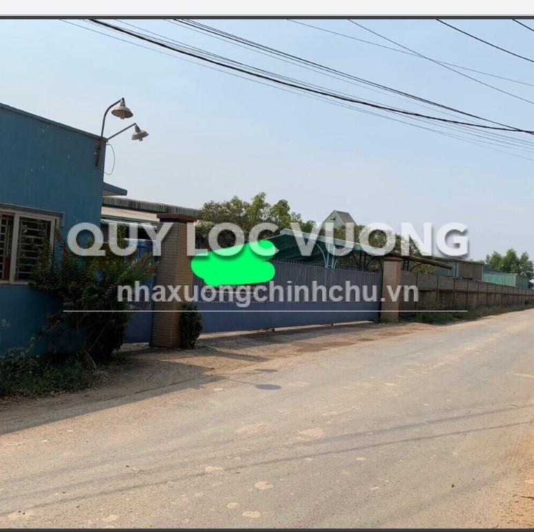 Bán xưởng sản xuất gỗ 10.000m2 trong CCN Vĩnh Cửu, Trảng Bom, Đồng Nai