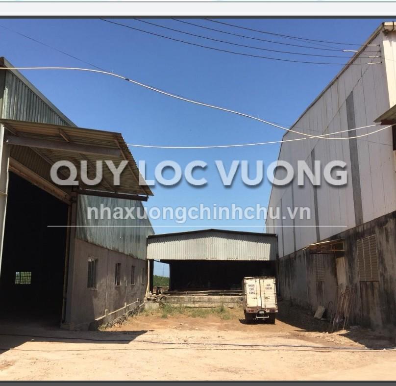 Cho thuê nhà xưởng khuôn viên 40.000m2 huyện Vĩnh Cửu, Đồng Nai