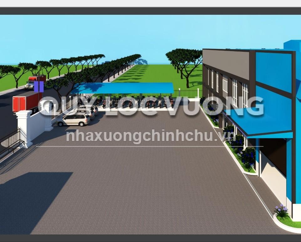 Cho thuê xưởng khuôn viên 30.000m2 trong KCN Cái Mép, Tân Thành, BR - VT