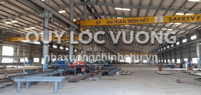 Bán xưởng sản xuất thép diện tích 10.000m2 trong KCN Nhơn Trạch, Đồng Nai