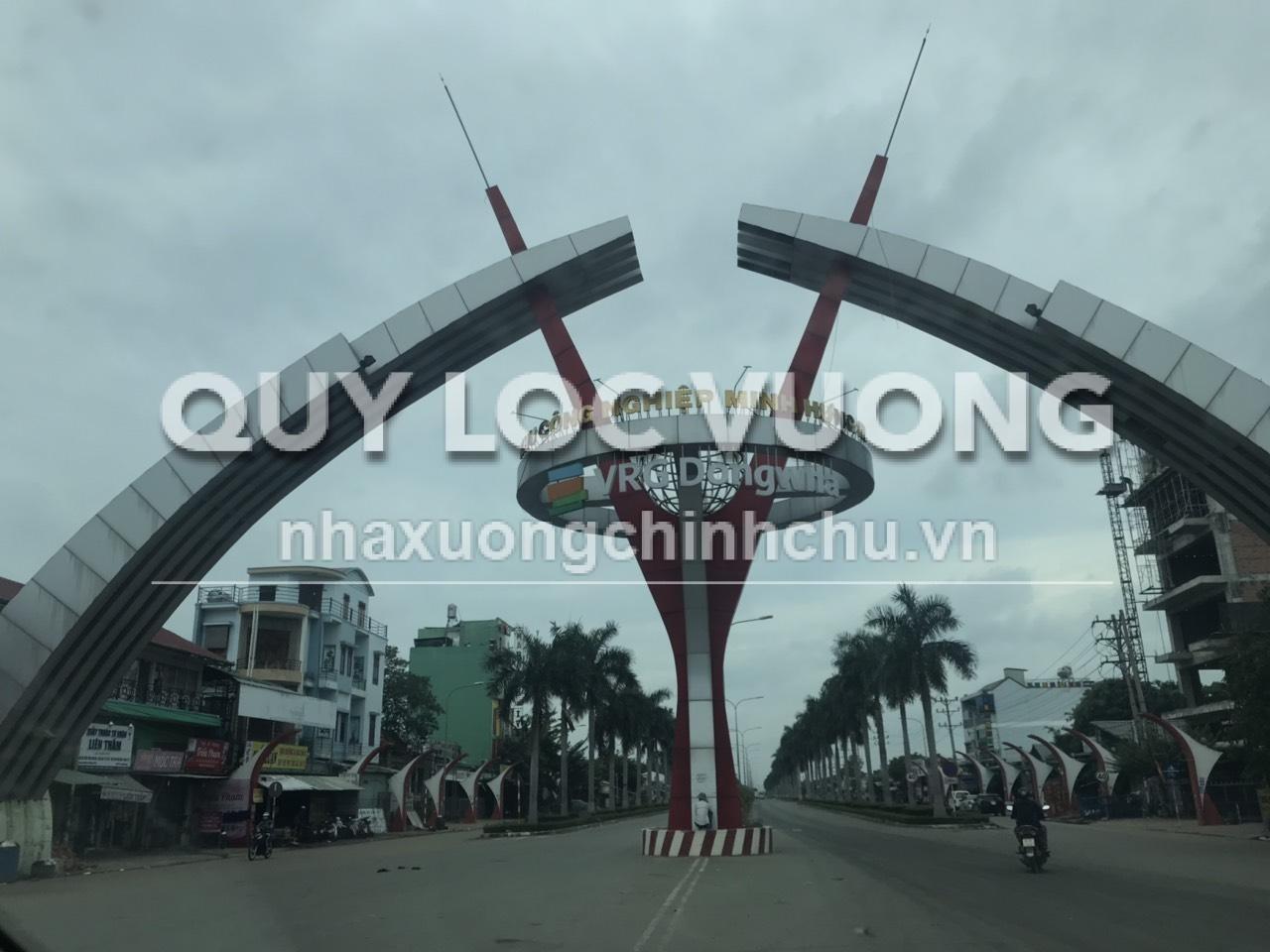 Bán 41.800m2 đất trống trong KCN Minh Hưng 3 đường QL13, Chơn Thành, Bình Phước
