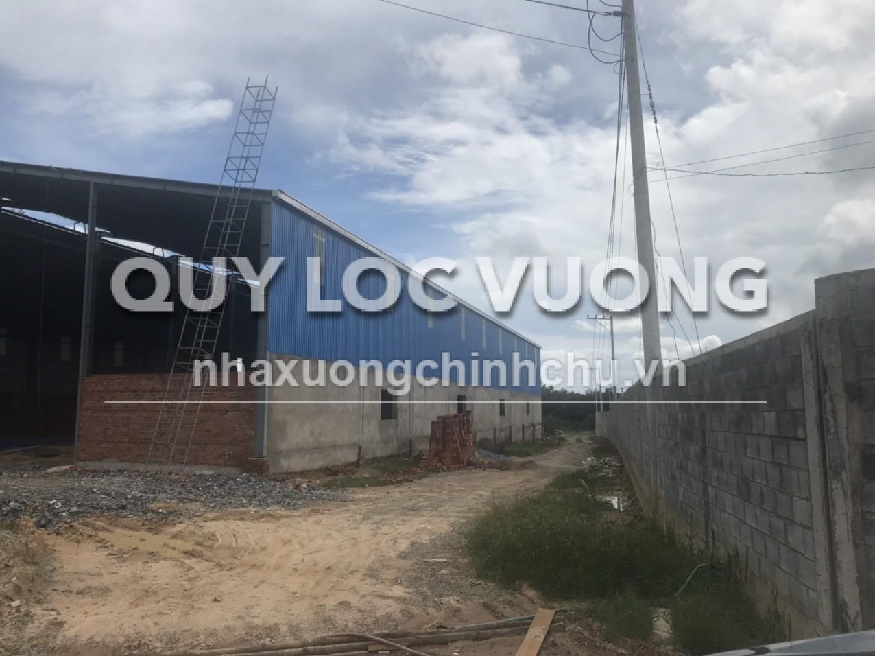 Bán hoặc cho thuê xưởng mới diện tích 2.700m2 xã Bình Mỹ Tân Uyên, Bình Dương