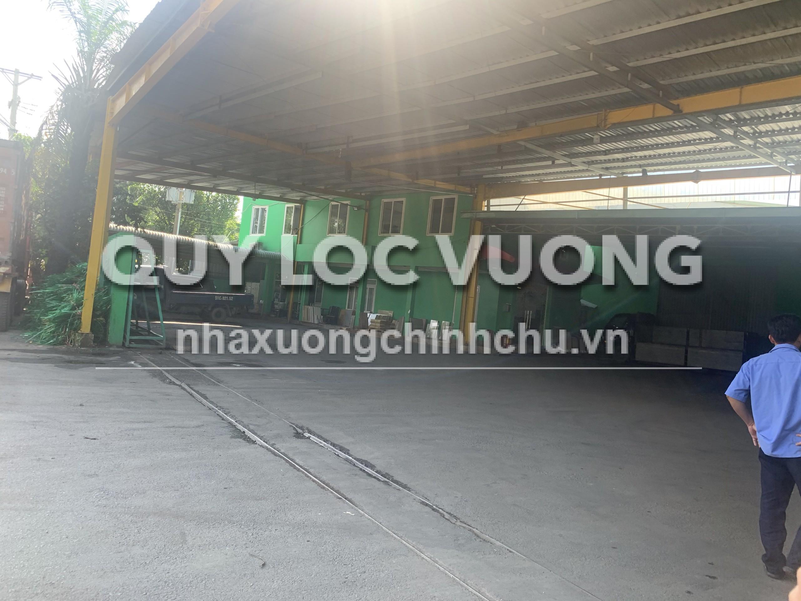Bán xưởng khuôn viên 5.273m2 đường Thống Nhất phường Bình Thắng, Dĩ An, BD