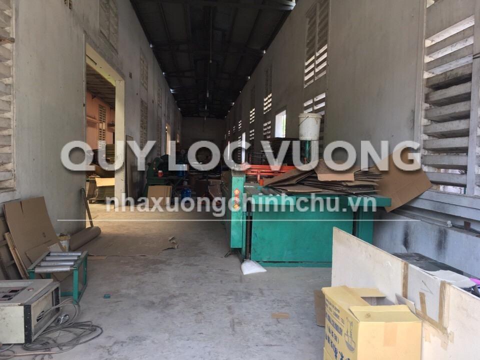 Bán xưởng sản xuất bao bì giấy khuôn viên 2.091m2 trong cụm CN Bảy Mẫu, BD