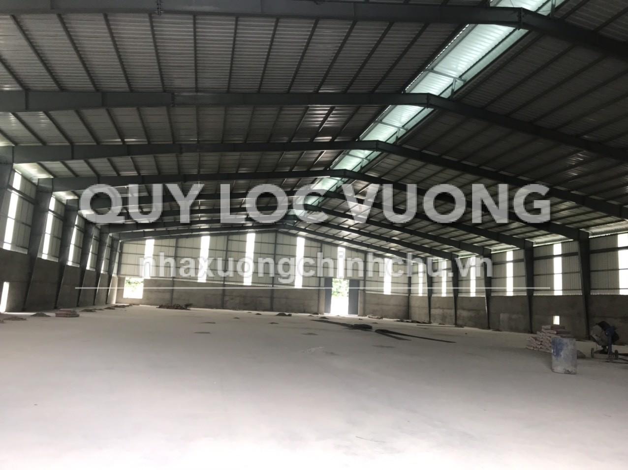Cho thuê nhà xưởng khuôn viên 10.000m2 ở xã Tân Hiệp Tân Uyên, Bình Dương