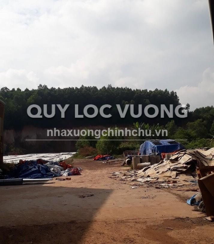 Bán xưởng đường 676 vào Bắc Sơn huyện Trảng Bom khuôn viên 5.000m2