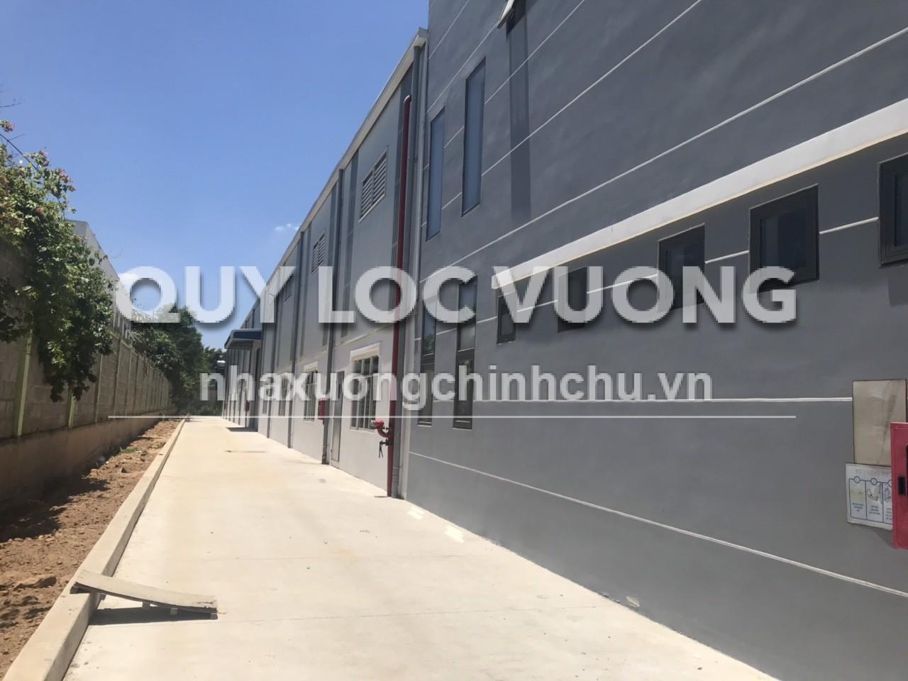 Cho thuê 3 nhà xưởng trong KCN Giang Điền Trảng Bom Đồng Nai giá rẻ