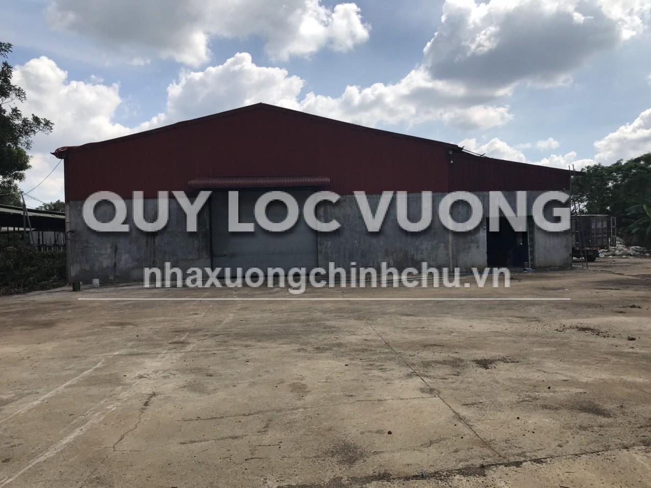 Cho thuê nhà xưởng khu vực thành phố Long Khánh Đồng Nai rộng 1.000m2
