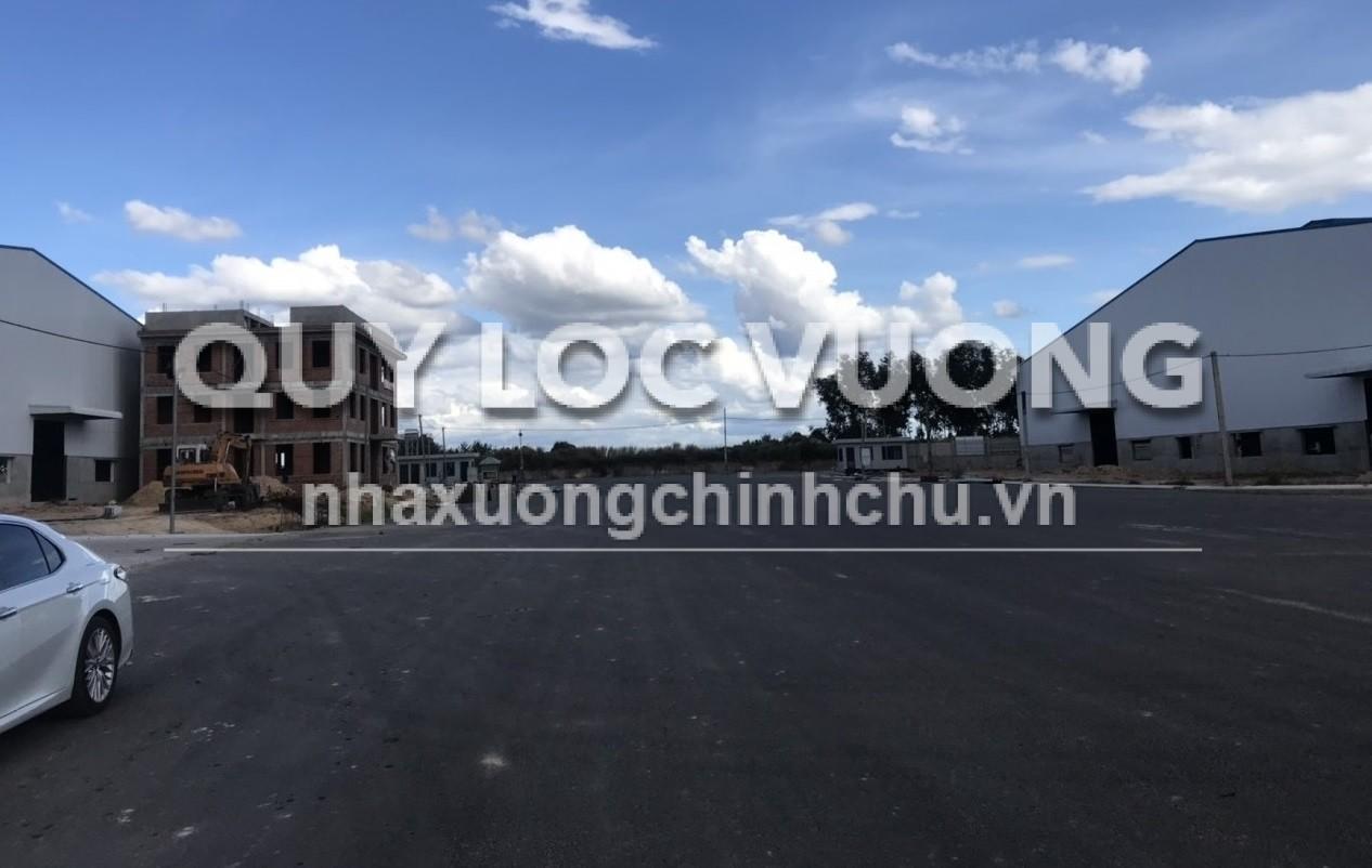 Cho thuê nhà xưởng xây mới khu vực xã Lai Uyên huyện Bàu Bàng giá rẻ