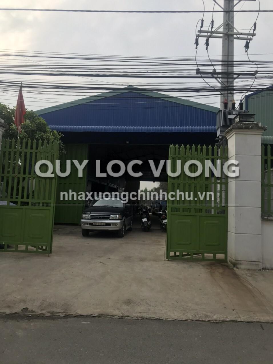Cho thuê xưởng nằm đối diện KCN Mỹ Xuân A Bà Rịa Vũng Tàu rộng 600m2