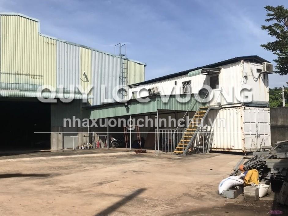Bán xưởng sản xuất máy móc thiết bị xây dựng 1.960m2 ở Thủ Dầu Một