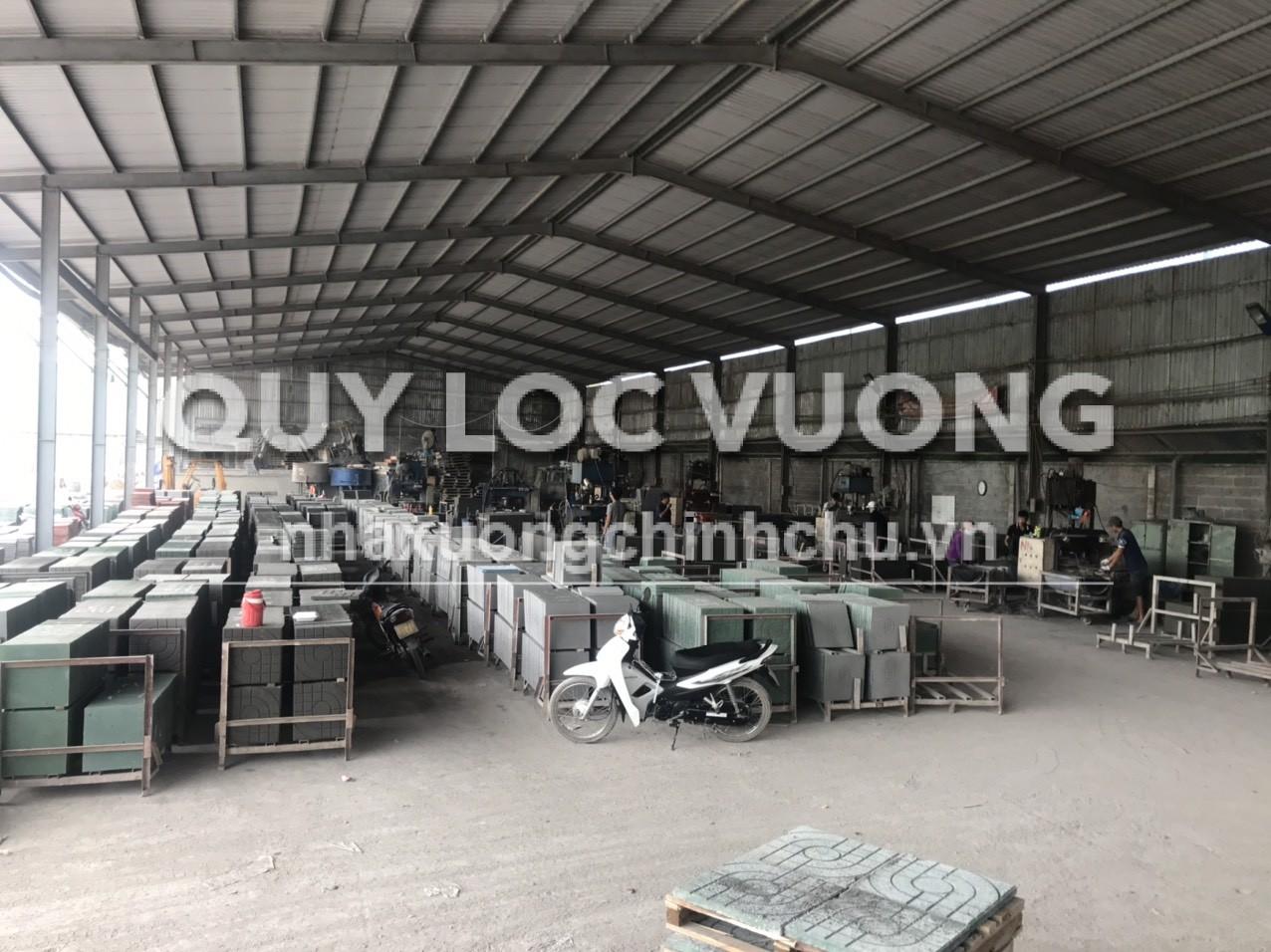 Cho thuê xưởng sản xuất 1.300m2 ở ấp Tân Cang phường Phước Tân Phước Tân
