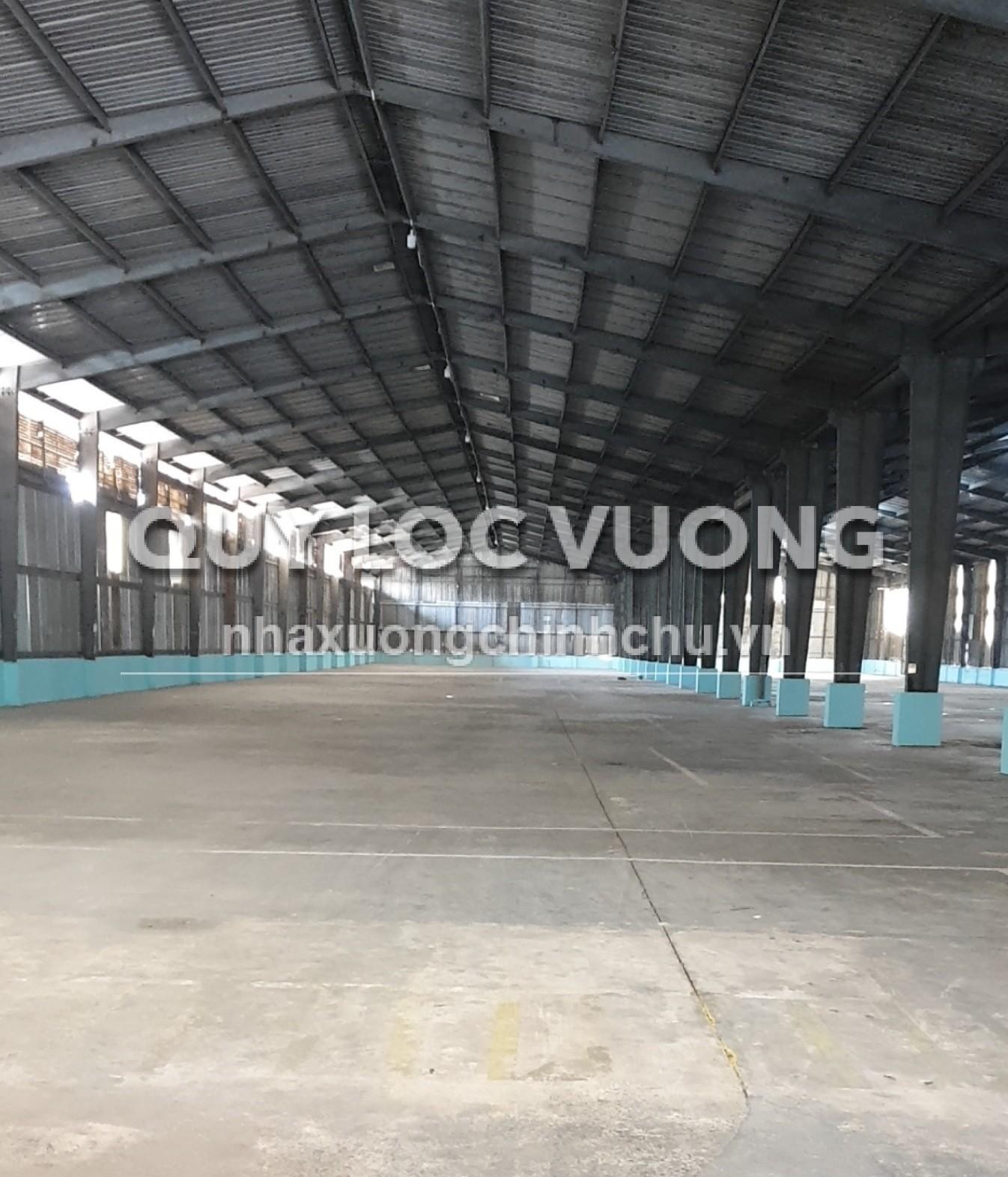 Cho thuê xưởng trống 6.000m2 trong KCN Biên Hòa 1 Bình Dương giá rẻ