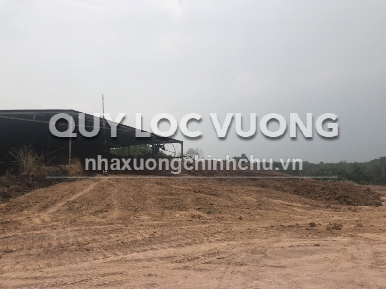 Bán hoặc cho thuê đất xưởng gạch 60.000m2 ở Tân Mỹ Tân Uyên Bình Dương