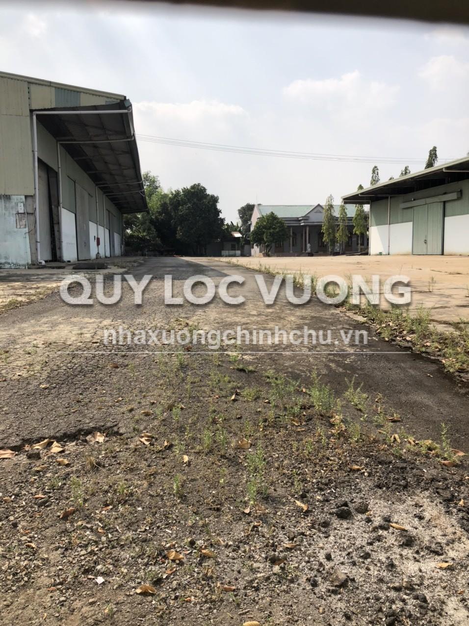 Cho thuê hoặc bán 2 xưởng 2.500m2 mặt tiền ngã 3 Sông Thao Trảng Bom