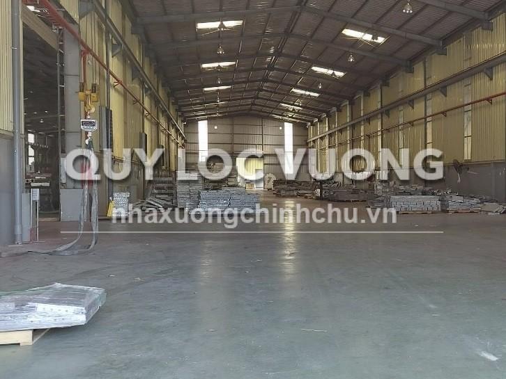Cho thuê hoặc bán nhà xưởng 9.000m2 trong KCN Sóng Thần Bình Dương