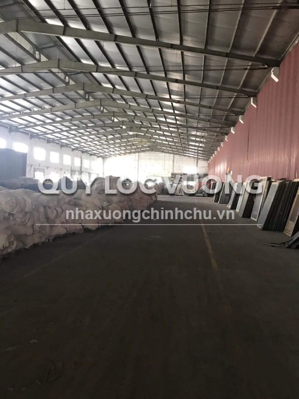 Cho thuê xưởng 1 trệt 2 lầu và nhà kho 600m2 trong KCN Tân Bình TPHCM