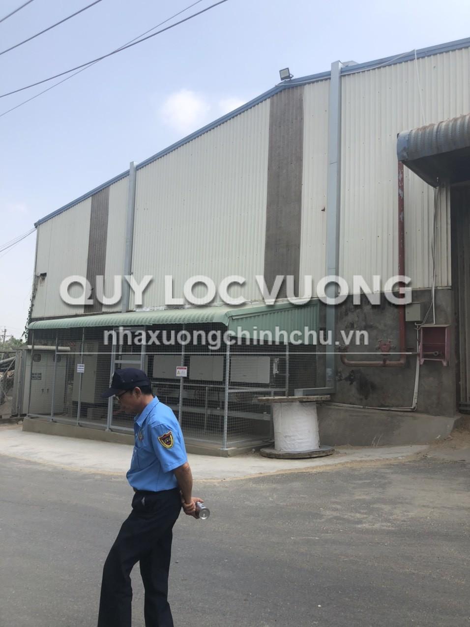 Cho thuê xưởng 3.500m2 trong Cụm công nghiệp VLXD Hố Nai 3 Đồng Nai