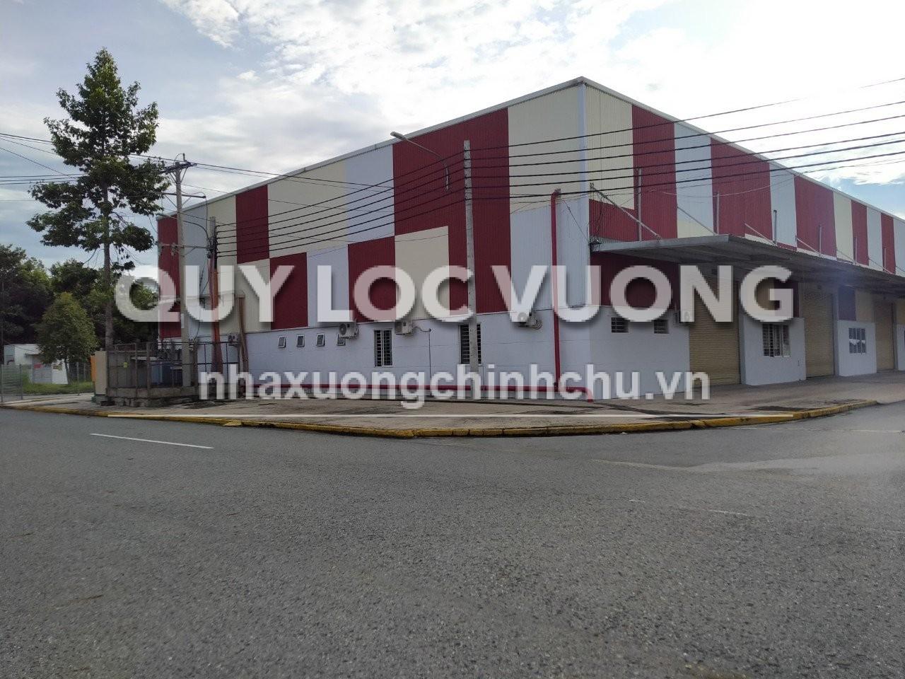 Cho thuê xưởng sản xuất 2.700m2 ở Bàu Bàng Bình Dương, có văn phòng