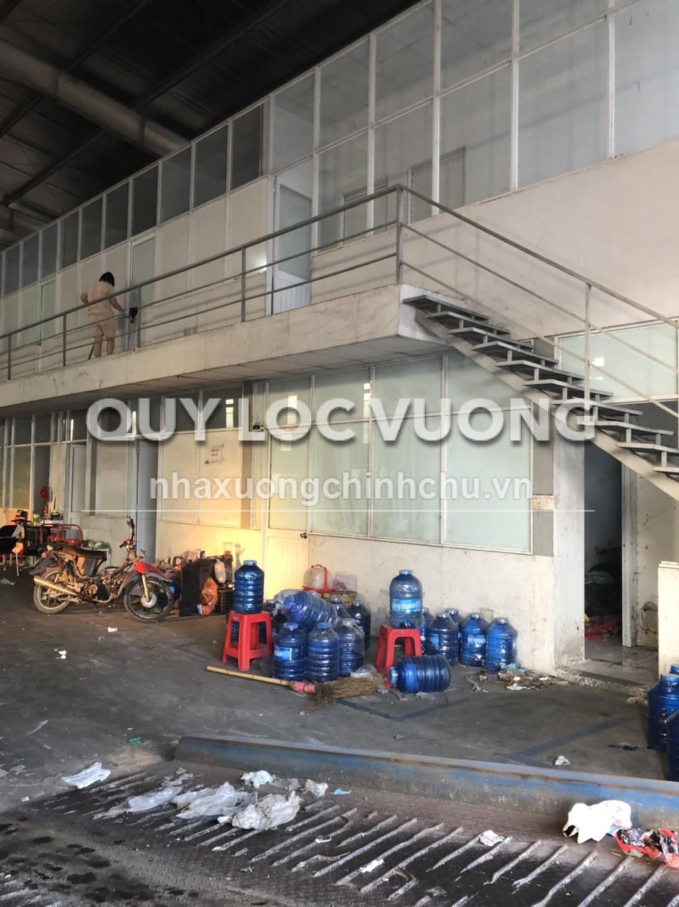 Cho thuê xưởng sản xuất 3.000m2 trong KCN Tân Đức Long An giá rẻ