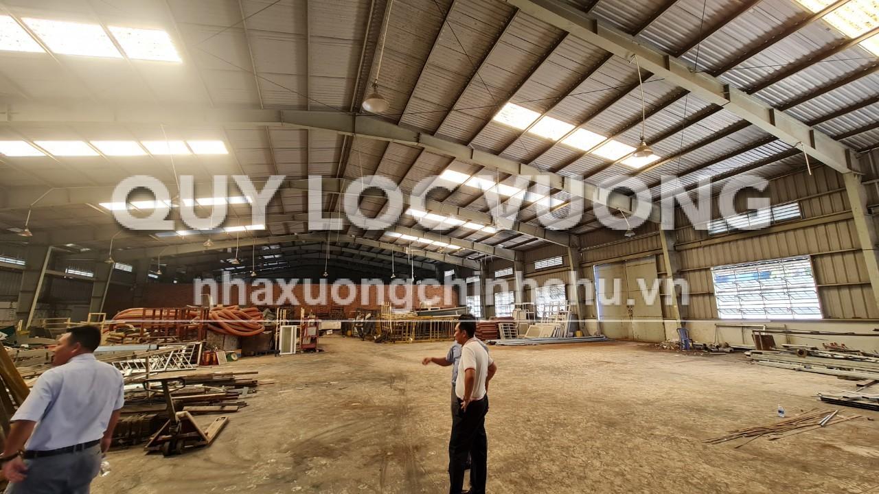 Cho thuê xưởng sản xuất cửa nhôm 1.800m2 ở phường Thới Hòa Bến Cát
