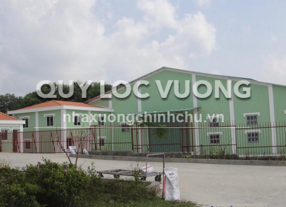 Cho thuê xưởng sản xuất và kho chứa hàng 4.400m2 ở Tân Uyên Bình Dương